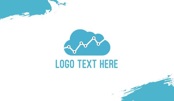 progress - Data Cloud  Business card horizontal design