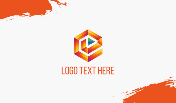 soundcloud - Media Maze Business card horizontal design