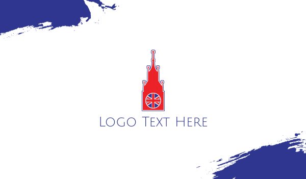uk - Big Ben London Business card horizontal design