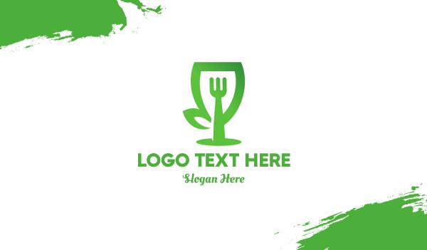 Green Restaurant Business Card