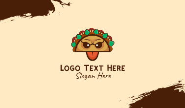 Mexican Taco Monster Business Card