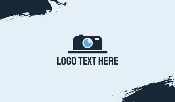 photo - Hat Camera Business card horizontal design