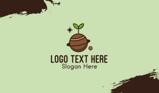 Plant Planet  Business Card
