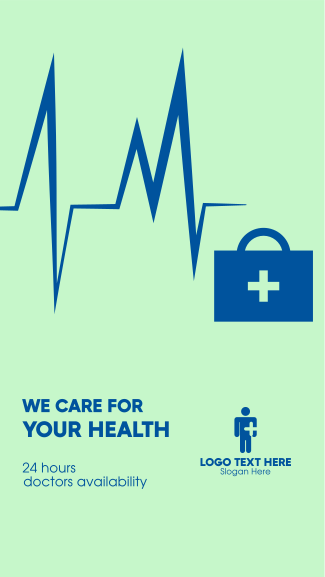 We Care for Your Health Facebook story