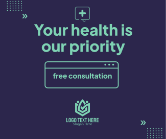 Your Health Is Our Priority Facebook post