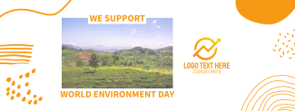 We Support World Environment Day Facebook cover