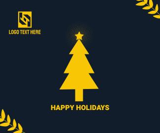 Christmas Tree Facebook Post
