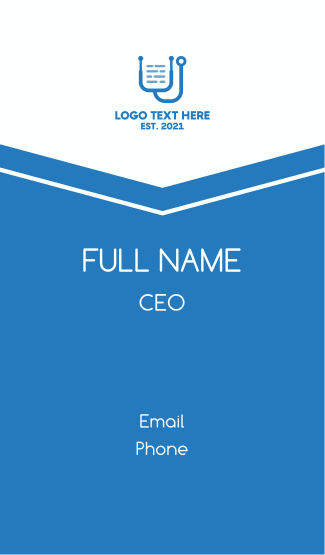Medical Certificate Business Card