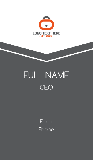 Lock Application Business Card