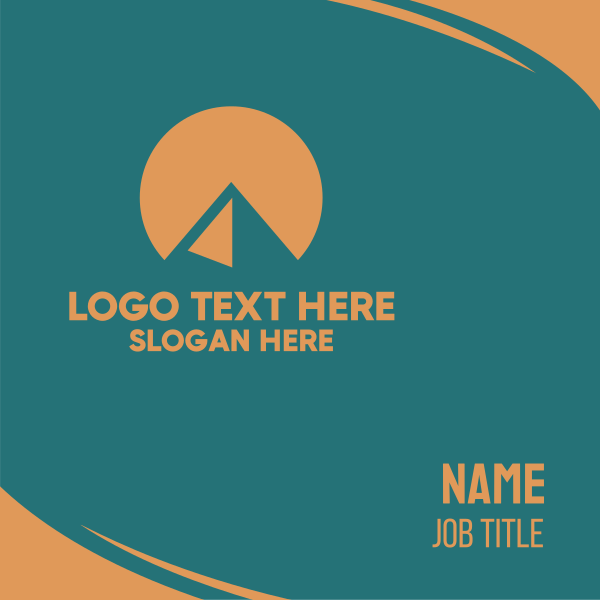 Sun Pyramid Business Card