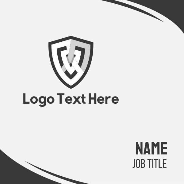 White Shield Business Card