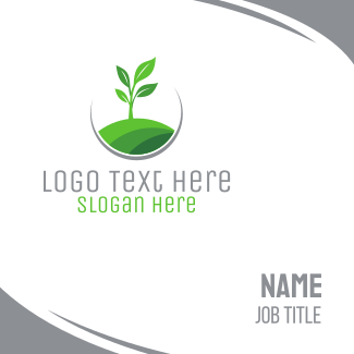 Plant Circle Business Card