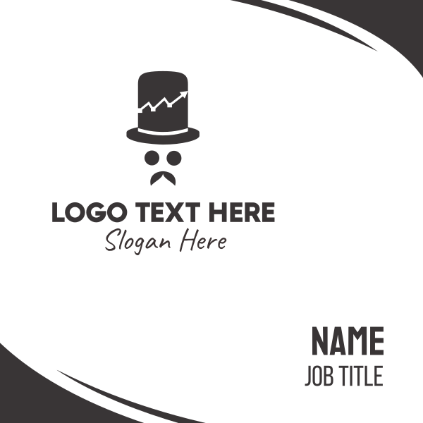 Mr Trade Hat Business Card
