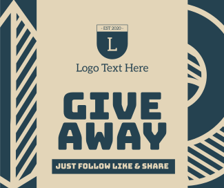 Giveaway Facebook post