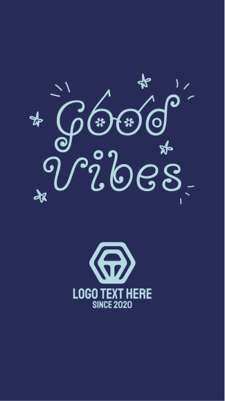 Good Vibes Sunglasses Facebook story