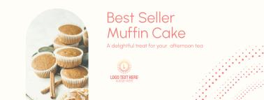 Best Seller Muffin Facebook Cover