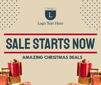 Christmas Sale Facebook Post