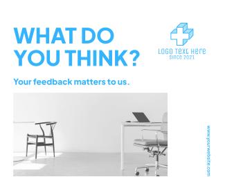 Take Our Survey Facebook post