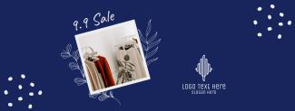 9.9 Women Fashion Sale Facebook cover
