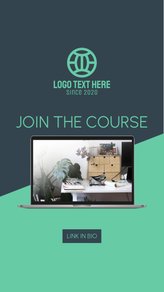Join The Course Facebook story