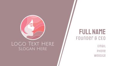 Hairdresser Beauty Face  Business Card