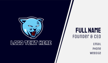 Blue Cat Gaming Business Card