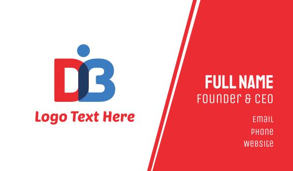 D & B Book Business Card