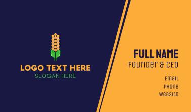 Honey Corn Business Card