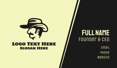 Cowboy Hat Business Card