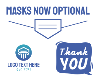Masks Now Optional Facebook post