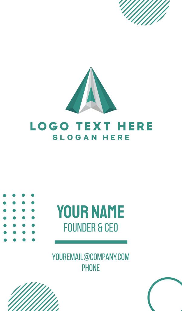 Green Diamond Business Card