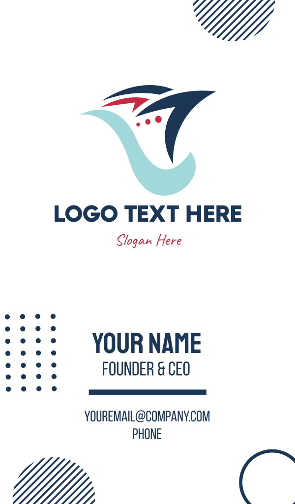 Cruise Silhouette Business Card