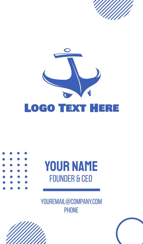 Anchor Man Business Card