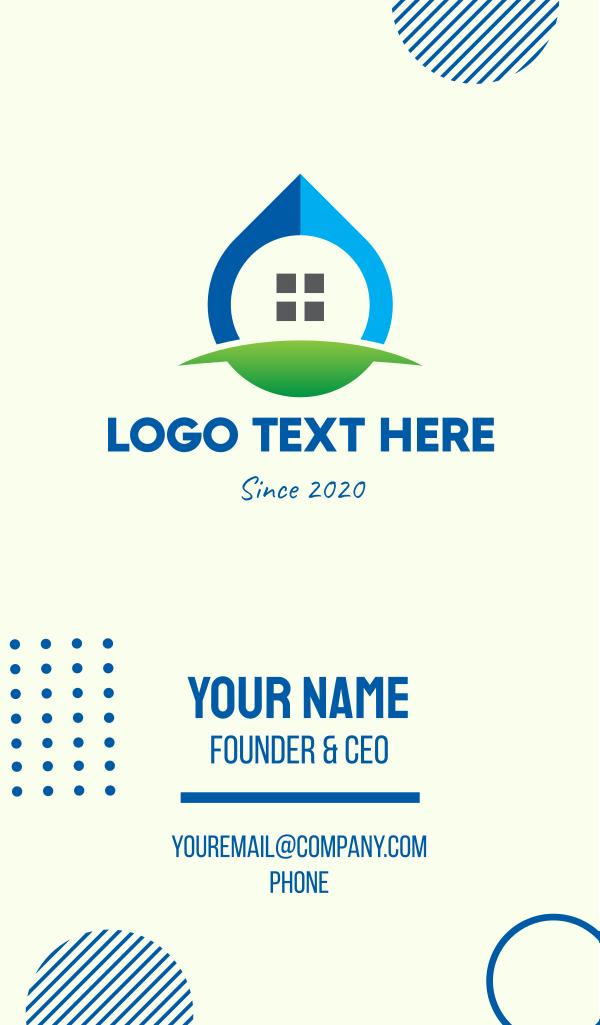 Eco Window Drop Business Card