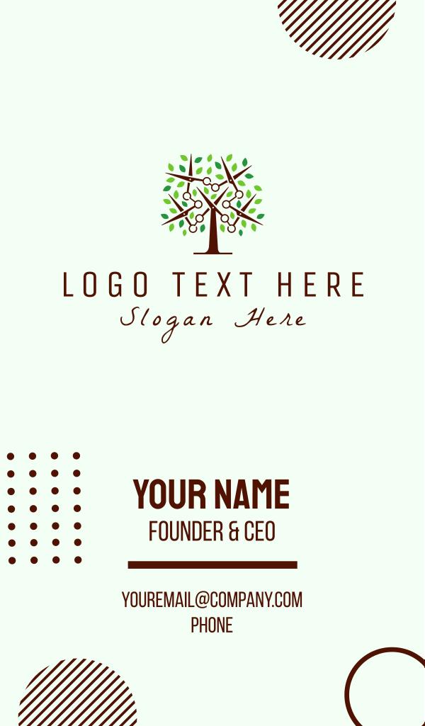Scissors Tree Business Card