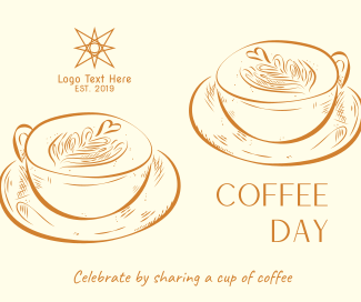 Coffee Day Latte  Facebook post