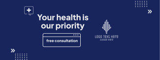Your Health Is Our Priority Facebook cover