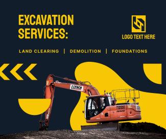 Excavation Services List Facebook post