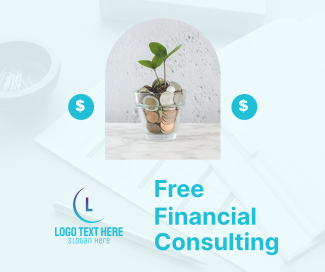 Financial Consulting Facebook post
