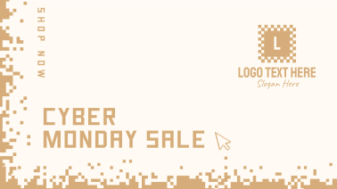 Cyber Monday Pixels Facebook event cover