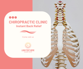 Chiropractic Clinic Facebook post