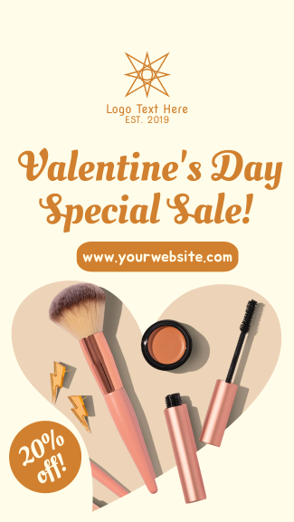 Valentine's Special Sale Facebook story