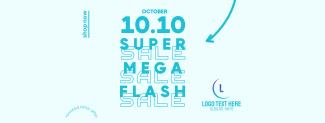 Flash Sale 10.10 Facebook cover