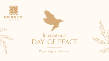 Day Of Peace Dove Facebook event cover
