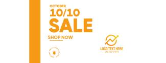 Sale 10.10 Facebook cover