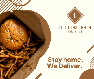 Food Delivery Facebook Post
