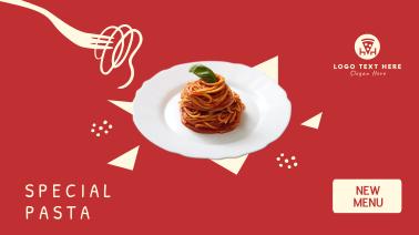 New Pasta Menu  Facebook event cover