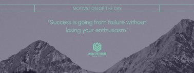 Motivation Of The Day Facebook Cover
