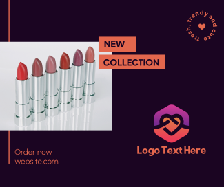 Lipstick Collection Facebook post