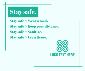 Stay safe Facebook post